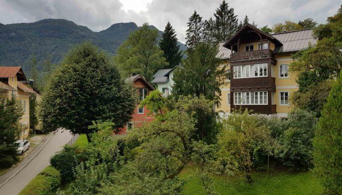 Ausblick Villa Lilly Bad Ischl