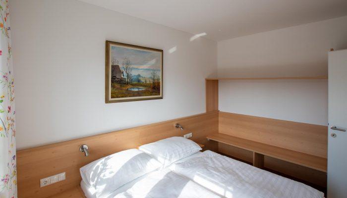 Schlafzimmer Appartement 3 Villa Lilly Bad Ischl