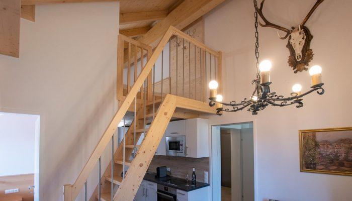 Aufgang Appartement 5 Villa Lilly Bad Ischl