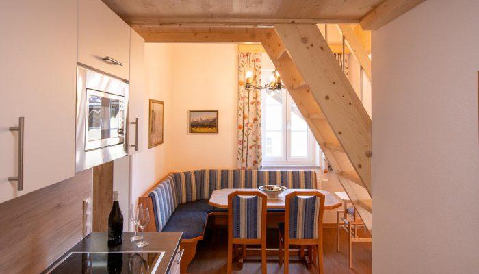 Esstisch Appartement 5 Villa Lilly Bad Ischl